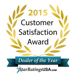 2015 Customer Satisfaction Award